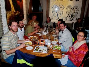 Worshop dinner at Dushanbe Teahouse